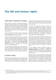 The EU and human rights - European Union @ United Nations