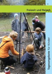 Ferienbetreuung im Kindergarten Purzelbaum - Lebenshilfe Breisgau