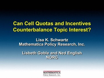 Can Cell Quotas and Incentives Counterbalance Topic Interest?