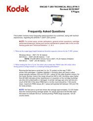 Frequently Asked Questions - Kodak