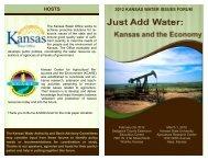 2012 KANSAS WATER ISSUES FORUM - Kansas Water Office