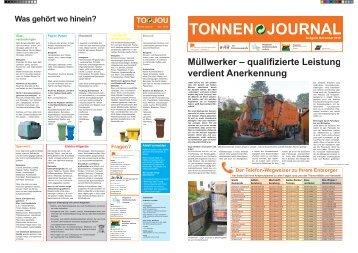 Download Tonnen-Journal - Stadt Wiehl