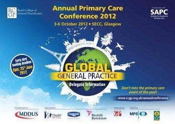 3-6 October 2012 - Eventtrac