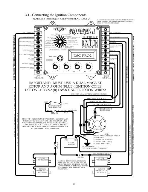 Dyna Electronic Ignition Wiring Diagram 3    Wiring Diagram