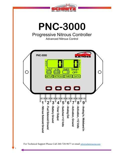 PNC-3000 User Manual pub - Schnitz Racing
