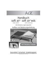 Anti Dekubitus Produkte - WIBU | Medizinischer Bedarf