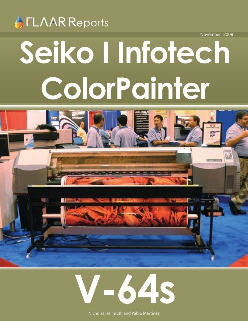 Seiko ColorPainter V-64s - Wide-format-printers.org