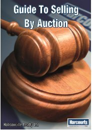 How We Will Conduct Your Auction - Harcourts Real Estate