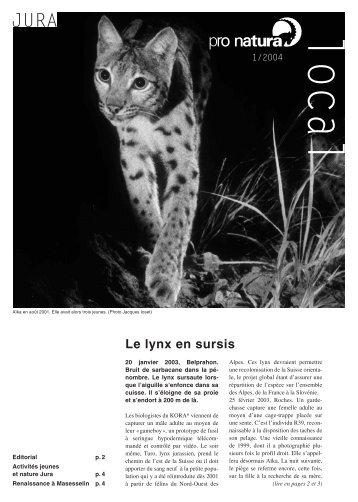 1/2004 - Pro Natura Jura