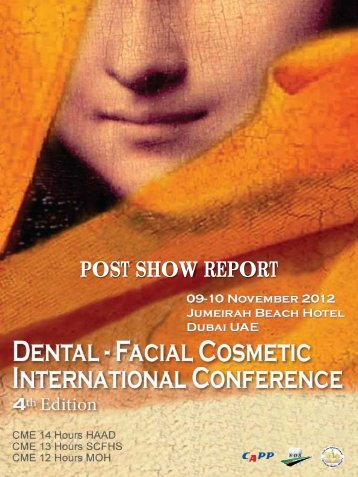 4th Dental - Facial Cosmetic International Conference - CAPP