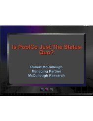 Is PoolCo Just The Status Quo? - McCullough Research