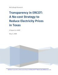 A No-cost Strategy to Reduce Electricity Prices in Texas