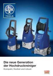 Die neue Generation der Hochdruckreiniger - Emil Lux GmbH & Co ...