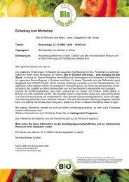 Einladung zum Workshop - Berufskolleg Lise Meitner