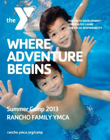 Summer Camp Guide 2013 - Rancho Family YMCA