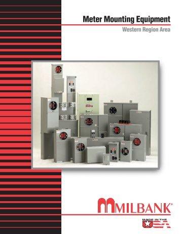 Meter Mounting Equipment Catalog / Western Region Area.