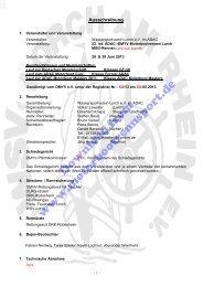Ausschreibung, Zeitplan, Kurs (PDF, 449kB) - Motorbootrennsport