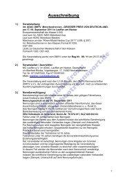 Ausschreibung, Nennung (PDF, 137kB) - Motorbootrennsport