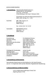 Ausschreibung (PDF, 146kB) - Motorbootrennsport