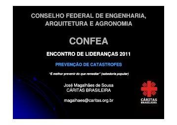 Cáritas Brasileira - José Magalhães de Souza - Confea