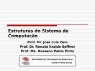 Estruturas do Sistema de Computação. - Rossano Pablo Pinto's ...
