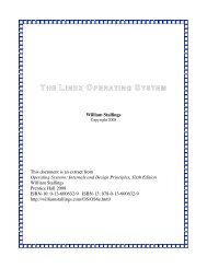 THE LINUX OPERATING SYSTEM - Rossano.pro.br