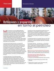 Reflexiones y propuestas en torno al petróleo - Coparmex