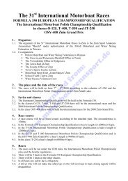 Advance Regulations, Schedule, Entry Form, Race Course (PDF ...