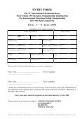 Advance Regulations, Schedule, Entry Form, Race Course (PDF ... - Page 7