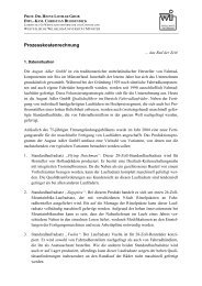 Prozesskostenrechnung - Westfälische Wilhelms-Universität Münster