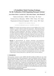 A Probabilistic Model Checking Technique for the Verification of Self ...