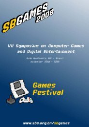 Festival SBGames 2008 - PUC Minas