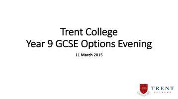 GCSE OPTIONS FOR 2012?