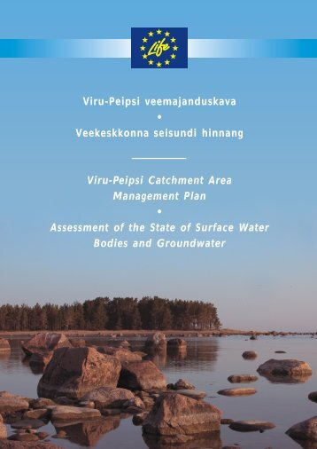 Viru-Peipsi veemajanduskava - Keskkonnaministeerium