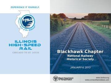 Blackhawk Chapter National Railway Historical Society