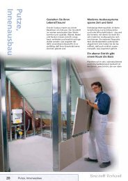 Putze,Innenausbau - Baustoffe Wieber GmbH