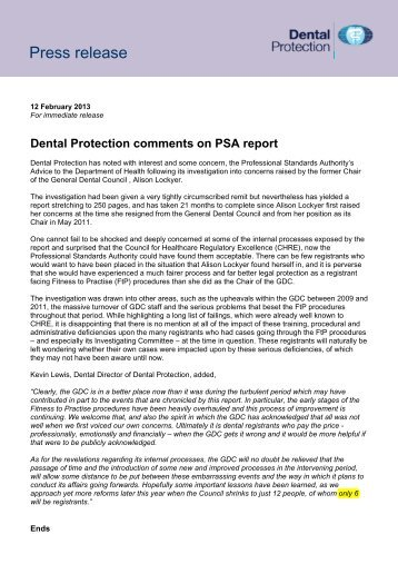 userfiles/DPL Comments on PSA report. Press release 12 Feb 2013 ...