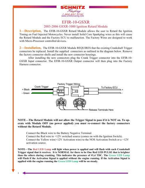 2006 gsxr 100 wiring schematics efir 10 gsxr manual pub schnitz racing  efir 10 gsxr manual pub schnitz racing