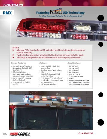 RMX as shown in our Fire Catalog - Code 3 Public Safety Equipment
