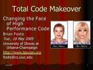 Total Code Makeover - Brian Foote