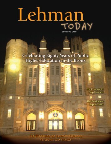 Spring 2011 Issue - Lehman College