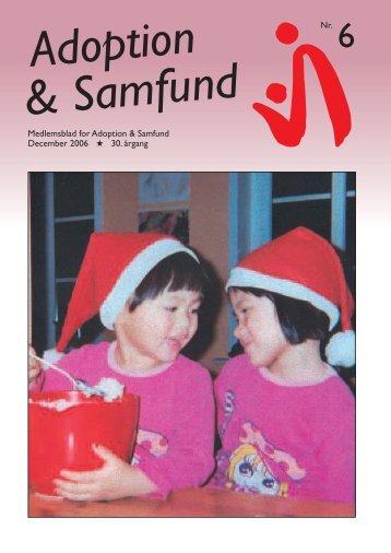 Dec. - Adoption og Samfund