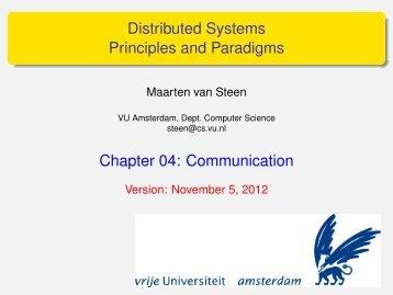 Distributed Systems Principles and Paradigms - Maarten van Steen