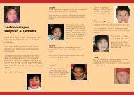 Et adoptivbarn i klassen - Adoption og Samfund