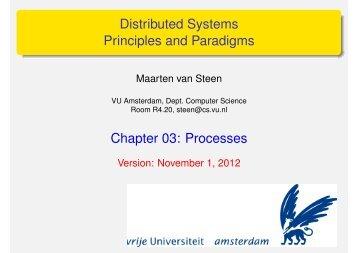Processes - Maarten van Steen