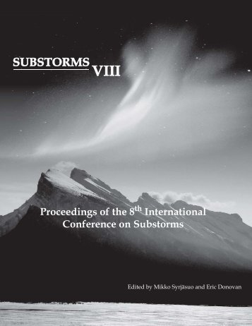 PDF Version. - Auroral Imaging - University of Calgary