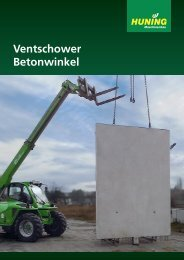 Ventschower Betonwinkel - Huning