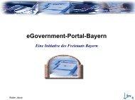 eGovernment-Portal-Bayern