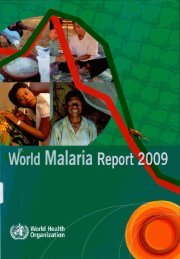 world Malaria