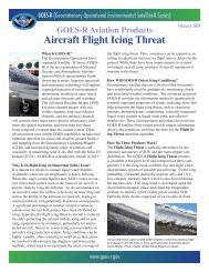 GOES-R Aviation Products Aircraft Flight Icing Threat